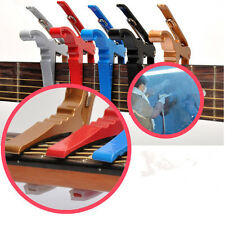 New Quick Change Key Trigger Acoustic Electric Folk Guitar Tune Capo Clamp MD