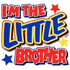 I'M THE LITTLE BROTHER T-Shirt sizes Toddler 2T-4T/ Youth XS-XL 5 colors BOYS