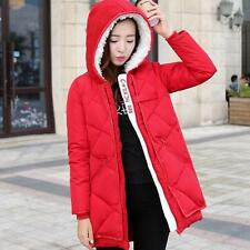 Winter Jacket Women Warm Hooded Jacket Ladies Down Cotton Coats Parka Outerwear