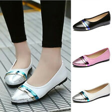 Hot New Fashion Women Pump Breathable Loafers Casual Flats Slip On Elegant Shoes
