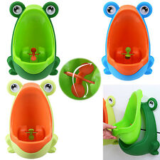 Frog Potty Training Toilet Toddler Boys Stand Up Urinal Pee Trainer Bathroom US
