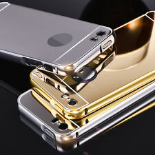 Phone Protective Case for Huawei One Plus Metal Bumper Frame Mirror Back Cover