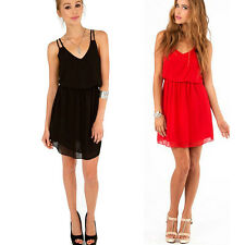 Fashion Womens Sexy Sleeveless Casual Evening Party Cocktail Minidress Clubwear