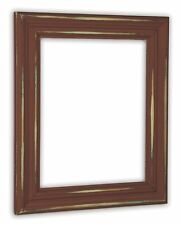 Distressed Rust Picture Frame - Solid Wood