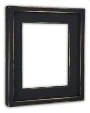 Farmhouse Black Picture Frame - Solid Wood