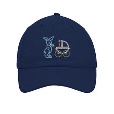 Easter Bunny Pushing Baby Embroidered SOFT UNSTRUCTURED Hat Baseball Cap