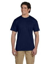 Gildan T-Shirt Tee Men's Short Sleeve 5.6 oz DryBlend 50/50 Pocket Basic 8300