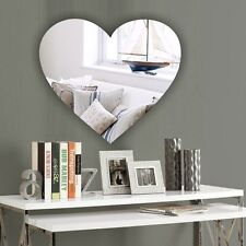 Personalised HEART Acrylic Mirror CHRISTMAS * Present Gift * Stocking filler *