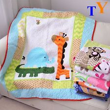Cartoon monkey Baseball Pirate quilting Patchwork cotton Blanket Bedspread Quilt