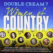 Double Cream 7: Women of Country - V/A New & Sealed CD-JEWEL CASE Free Shipping