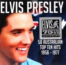 50 Australian Top Ten Hits 1956-1977 - Elvis Presley Compact Disc