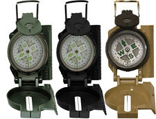 Military Tactical Liquid Filled Lensatic Marching Compass