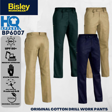 BISLEY WORKWEAR PANTS ORIGINAL COTTON DRILL WORK PANT BP6007