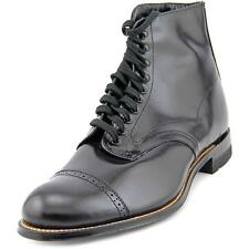 Stacy Adams Madison 00015 Men  Cap Toe Leather Black Boot