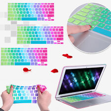 US Silicone Slim Keyboard Protector Cover For Apple MacBook Pro Air Mac Retina