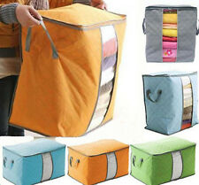 Bamboo Clothing quilt beding Portable Large Hot Pouch Underbed Storage Bag
