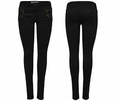 Women's Jeans Leggings ROYAL REG SKINNY ZIP NOOS black Denim Jeggings