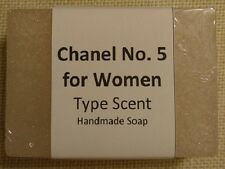 Handmade Glycerin Soap - Chanel No. 5 for Women Type Scent