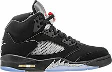 Nike Air Jordan Metallic 5 V OG Retro Black Metallic Silver 845035 003
