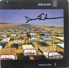 Pink Floyd (3) David Gilmour, Nick Mason & Wright Signed Album Cover JSA #X74253