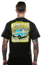 LUCKY 13 STREET GYPSY HOT ROD ROCKABILLY PUNK BIKER GOTH TATTOO T SHIRT S-4XL