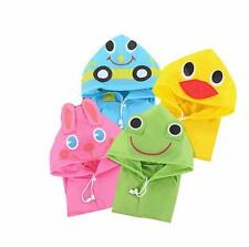Children Cute Waterproof Kids Baby Raincoat Rainwear Funny New Cartoon