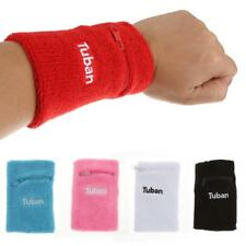 Zipper Pocket Sports Wristband Sweatband Wrist Band Basketball Tennis Armband