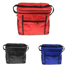 Red/Black/Blue Insulated Cooler Cool & Thermo Lunch Bag for Picnic Camping