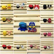 2pcs Cartoon Soft Colorful DIY PVC Rings for Kids Boys Girls Party Favor Gifts