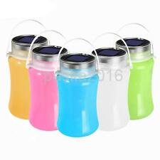 Foldable Solar/USB Powered Lantern LED Camping Fish Light Waterproof Bottle Lamp