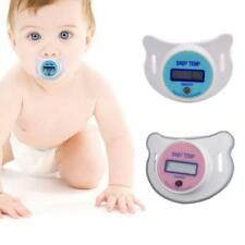 Kids Toddler Baby LCD Pacifier Thermometer Digital Oral Thermometer