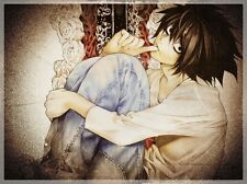 "Death Note Anime Fabric Art Cloth Poster 17x13 24x18 32x24"" Decor 13"