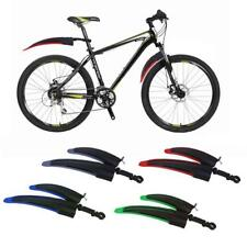 "20"" 22"" 24"" 26"" Wheel Mudguards Front Rear Mountain Bike Bicycle Fenders Set"
