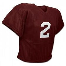 New Champro FJ2 Mesh Waist Length Football Youth Adult Practice Jersey Maroon
