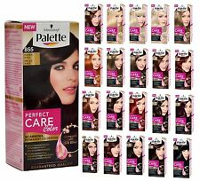 Palette Perfect Care Schwarzkopf Color Hair Dye Colour Cream Ammonia Free