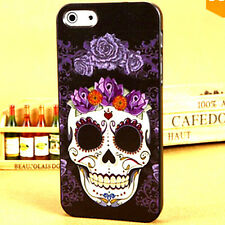 FOR THE SKULL LOVERS PHONE CASE COVER FOR IPHONE 5 5S & 6 6S CREATIVE UNIQUE