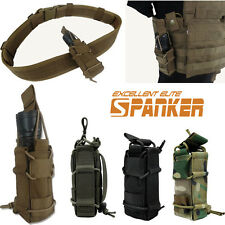 1000D Military Tactical Molle Pistol Magazine Pouch Flashlight Holder Tools Bag