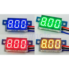3 Digit 0-200V 0.36 three-wire Mini Voltage Test Panel Meter Different Choice TW