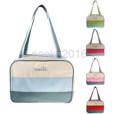Colorful Mummy Bag Baby Nappy Diaper Changing Bag Maternity Tote Handbag Large
