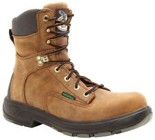Georgia Men's Flxpoint Waterproof Composite Toe Lace Up Work Boots Brown G9644