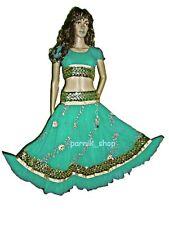 PR Belly Dancing Skirt-Top Set Sequince Embroidery Bollywood Dancing Costume