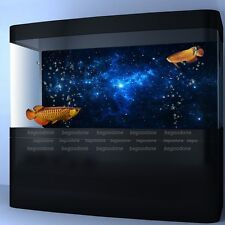 Star Dust Fish Tank Aquarium Background Poster Landscape Decoration 24/48/72inch