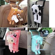 Plush Home Office Car Tissue Box Napkin Cover Holder Paper Storage 4 Types