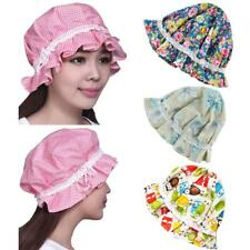 Cotton Women Lace Sleep Sleeping Cap Hat for Hairdressing Night Sleep Bonnet Hat