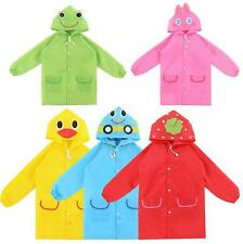 Children Kids Waterproof Cartoon Rainwear Baby Cute Funny Raincoat
