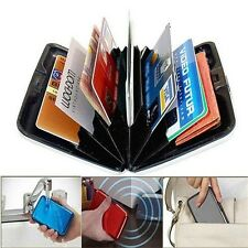 New Waterproof Aluminum Metal Business ID Credit Card Wallet Holder Pocket Case