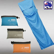 Single Sleeping Bag Liner Hostel Travel Inner Sheet Sleep Sack Camping OSBAG99