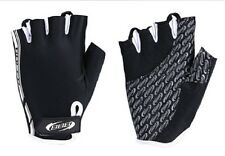 BBB CYCLE SUMMER GLOVES MITTS BBW-37 RACER BLACK / WHITE VENTED BREATHABLE