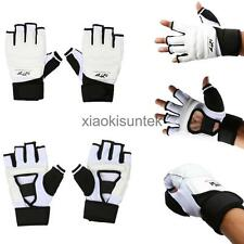 1 Pair Unisex Boxing Gloves Fight Punch Bag MMA Muay Thai Grappling Pad Kick