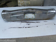 1968 RIVIERA REAR BUMPER DENTED PITTING  USED GM BUICK 455